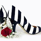 Striped Shoes by Maria Dryfhout