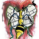 Beedrill Zombie  by StuffHobo