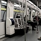 Ready to Depart - Barcelona Metro by rsangsterkelly