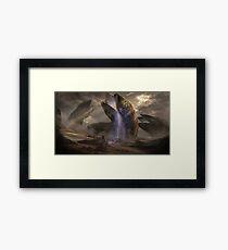 Dune Sandworms Framed Print