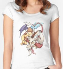discord time Women's Fitted Scoop T-Shirt