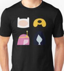 Simplistic Dudes and Dudettes Unisex T-Shirt