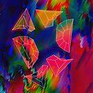 Prism Glitch Explosion by Travis McLaren