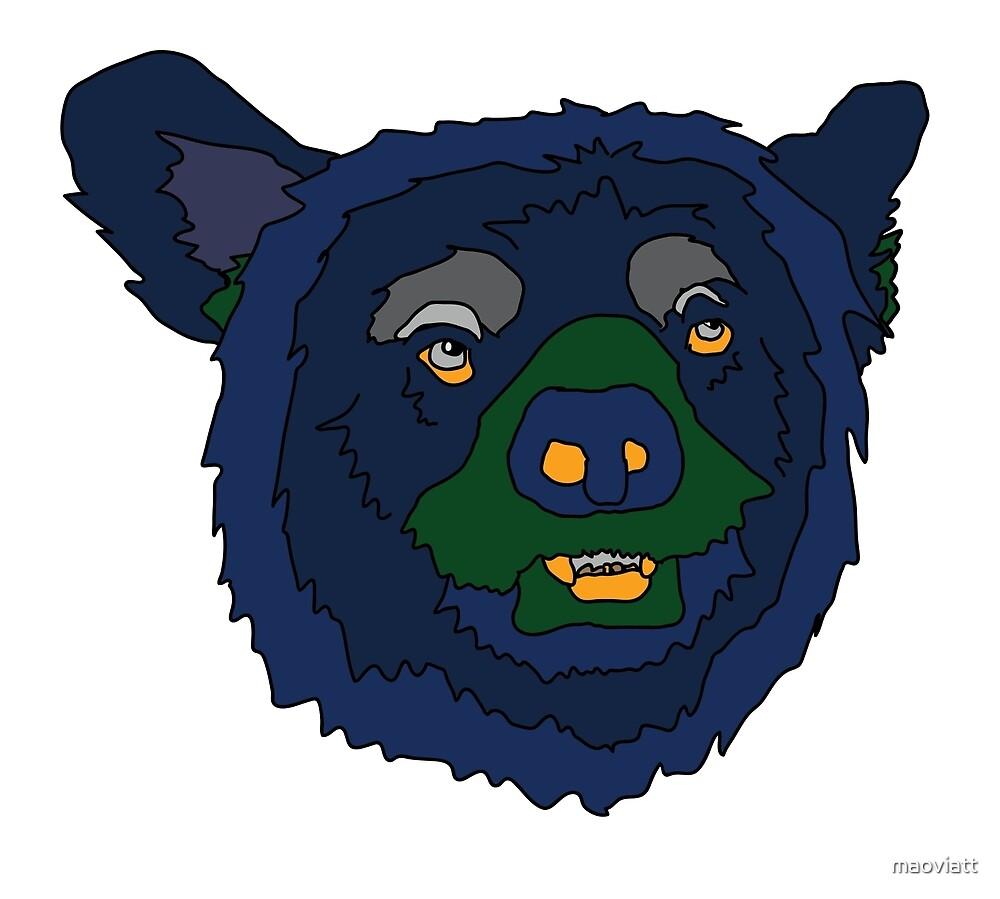 Black Bear by maoviatt