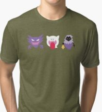 Ghosts of Gaming Past Tri-blend T-Shirt