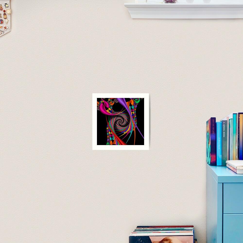 Braiding Rainbows Art Print