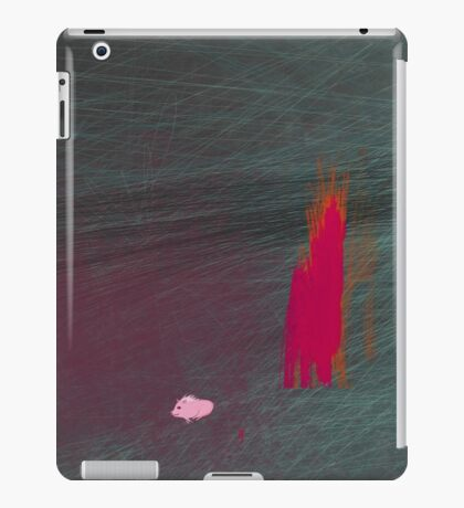 My pig burned down the house iPad Case/Skin