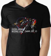 Camiseta de cuello en V Wing Zero: ZERO System