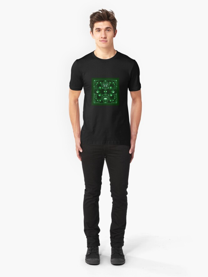 Alternate view of In the Kingdom of the Green Slim Fit T-Shirt