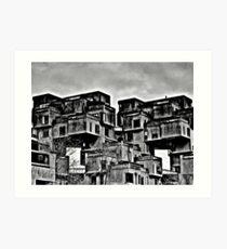 Habitat 67 - Brutalism Art Print