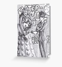 Bad Doctor - Good Doctor Greeting Card