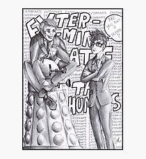 Bad Doctor - Good Doctor Photographic Print
