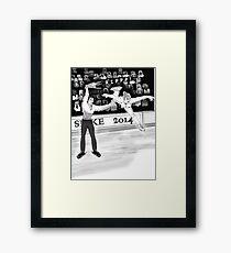 Olympics Accident 2 Framed Print
