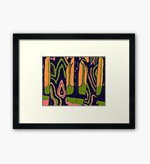 Pop Forest Framed Print