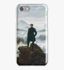 CASPAR DAVID FRIEDRICH (-  ), THE WANDERER ABOVE THE SEA OF FOG iPhone Case/Skin