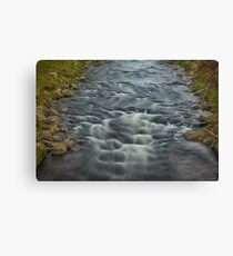 Rapids in the River Steinlach, Tübingen 3 Canvas Print