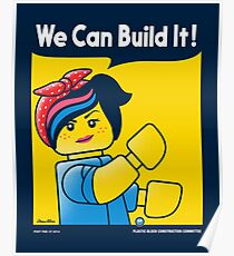 WE CAN BUILD IT! Poster