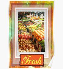 Farm Fresh Market Poster