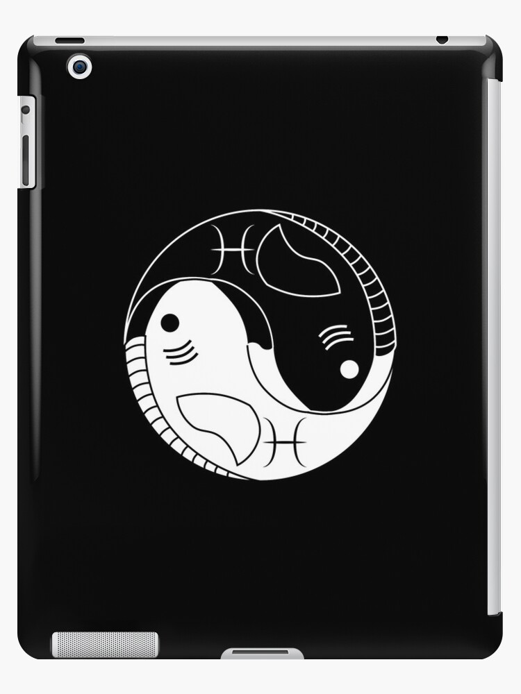 Yin yang pisces fish ipad cases skins by lucid reality redbubble yin yang pisces fish sciox Gallery