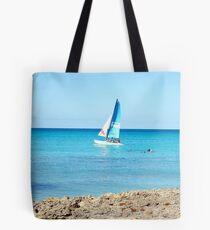 Tropical Sailing Tote Bag