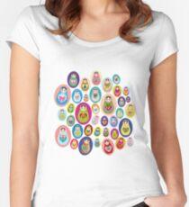 doll matryoshka Women's Fitted Scoop T-Shirt