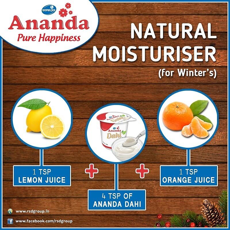Natural Moisturiser For Winters by Gopaljee Ananda