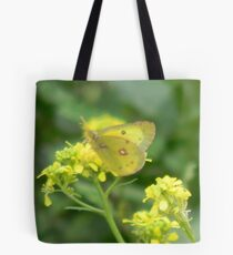 Young Butterfly Starts Spring Tote Bag