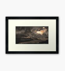 Dune Ruins Framed Print