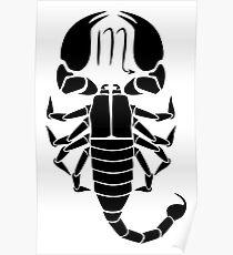 Scorpio Scorpion Poster