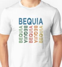 Bequia Cute Colorful Unisex T-Shirt