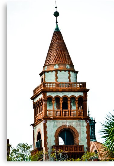 Flagler College turret (once the Ponce de Leon Hotel) by jenbucheli