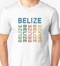 Belize Cute Colorful T-Shirt