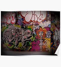 Graffiti, London, England   Wacky Poster
