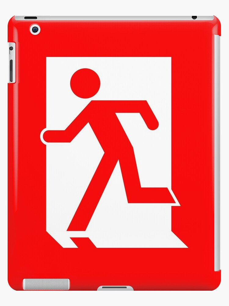 Running Man Emergency Exit Sign, Left Hand by Egress Group Pty Ltd