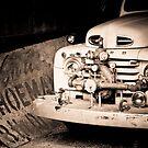 1949 Fire Truck by Joe McTamney
