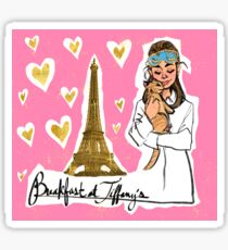 Breakfast at Tiffany's Sticker