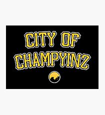 City of Champyinz Photographic Print