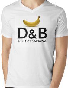 Dolce & Banana Mens V-Neck T-Shirt