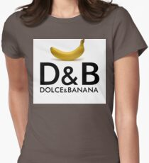 Dolce & Banana Womens Fitted T-Shirt