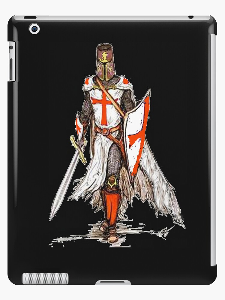 Crusader iPad by Catherine Hamilton-Veal  ©