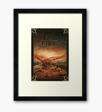 A Song of Ice and Fire:The Hedge Knight  Framed Print