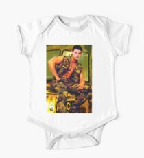 Asian Army Hunk Kids Clothes