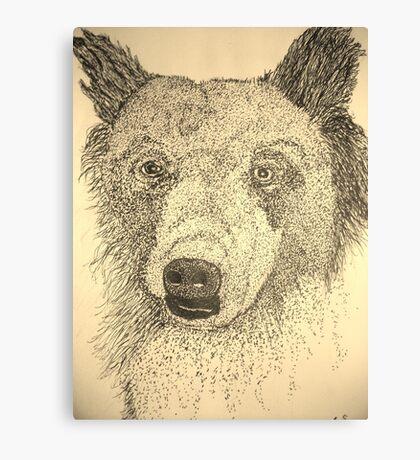 Bear Right Canvas Print