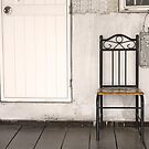 Lonely chair background by kawing921
