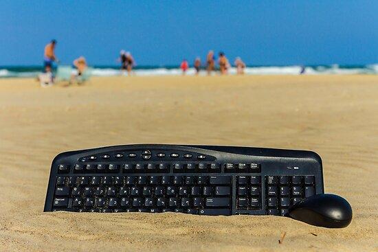 Beach office by SharonYanai