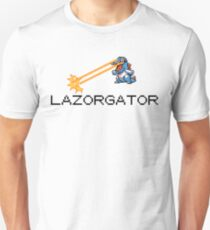 Lazorgator -  Twitch Plays Pokemon Unisex T-Shirt