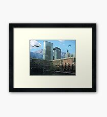 Futuristic City Framed Print