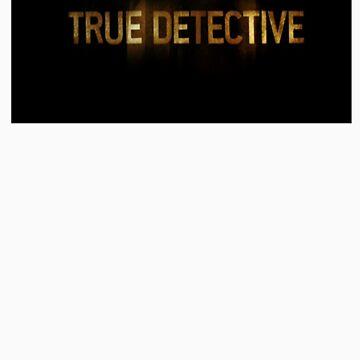 True Detective - T-Shirt - Logo by MrWhiteBRBA