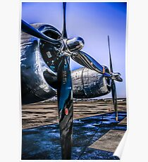 Wright Cyclone R-3350 Poster