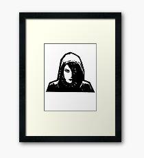 Lisbeth Salander Framed Print